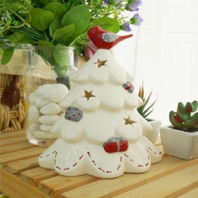 프로방스 트리 촛대 인테리어 크리스마스 장식품