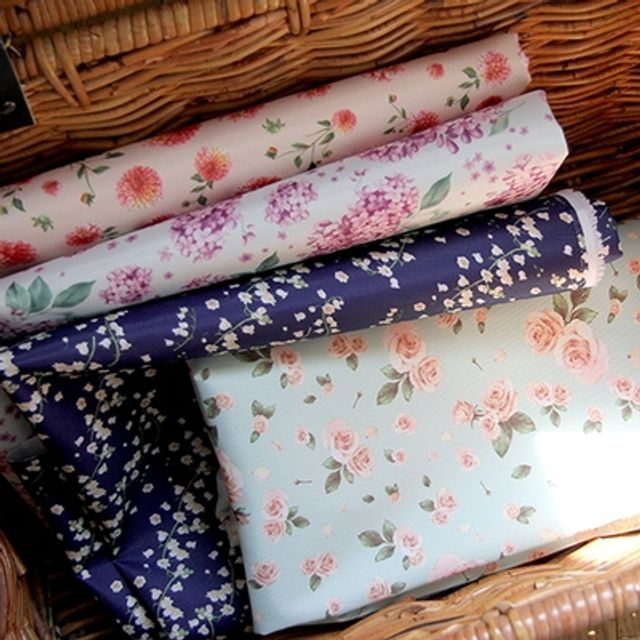 Floral Fabric-발수