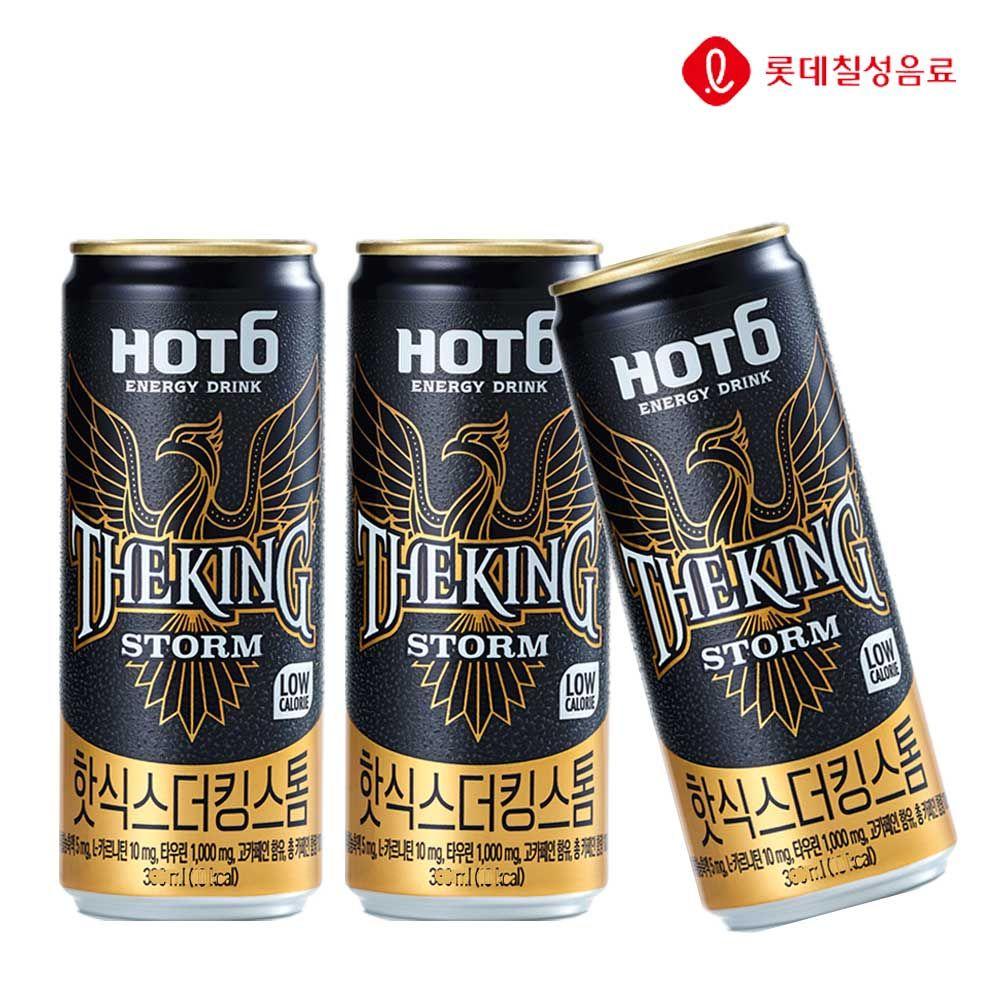 핫식스 더킹 스톰 355ml X 24개 에너지음료