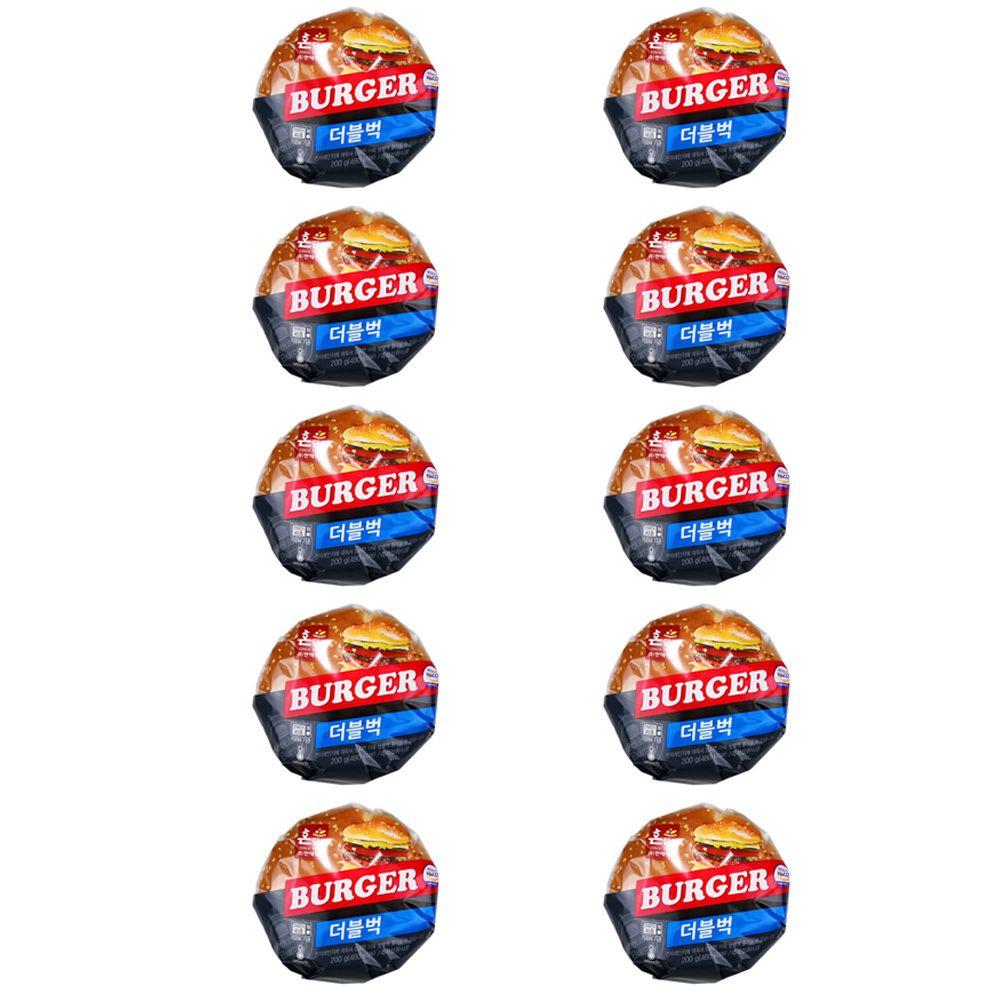 이경규 빵 버거 PC방 매점 햄버거 독서실 더블벅 10개