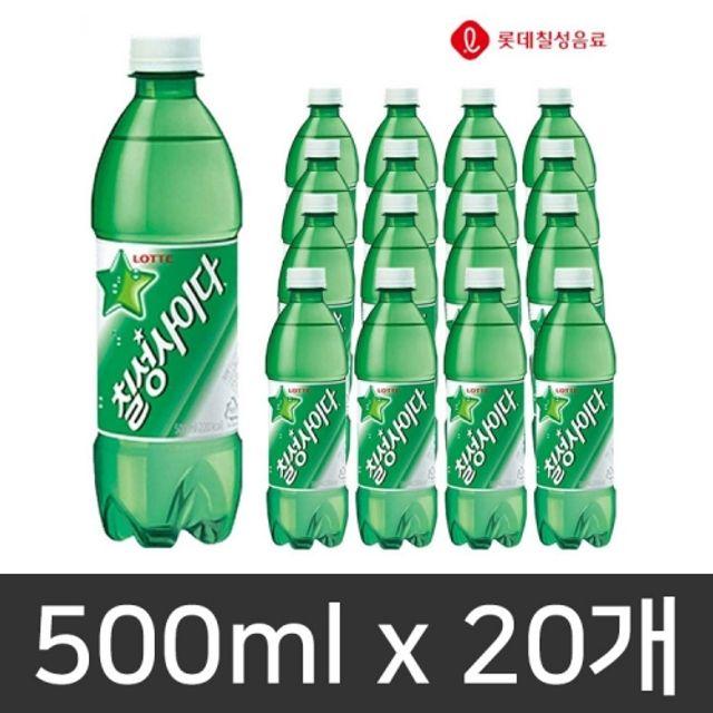 칠성사이다 탄산음료 500ml 1.5L 1BOX 묶음 판매