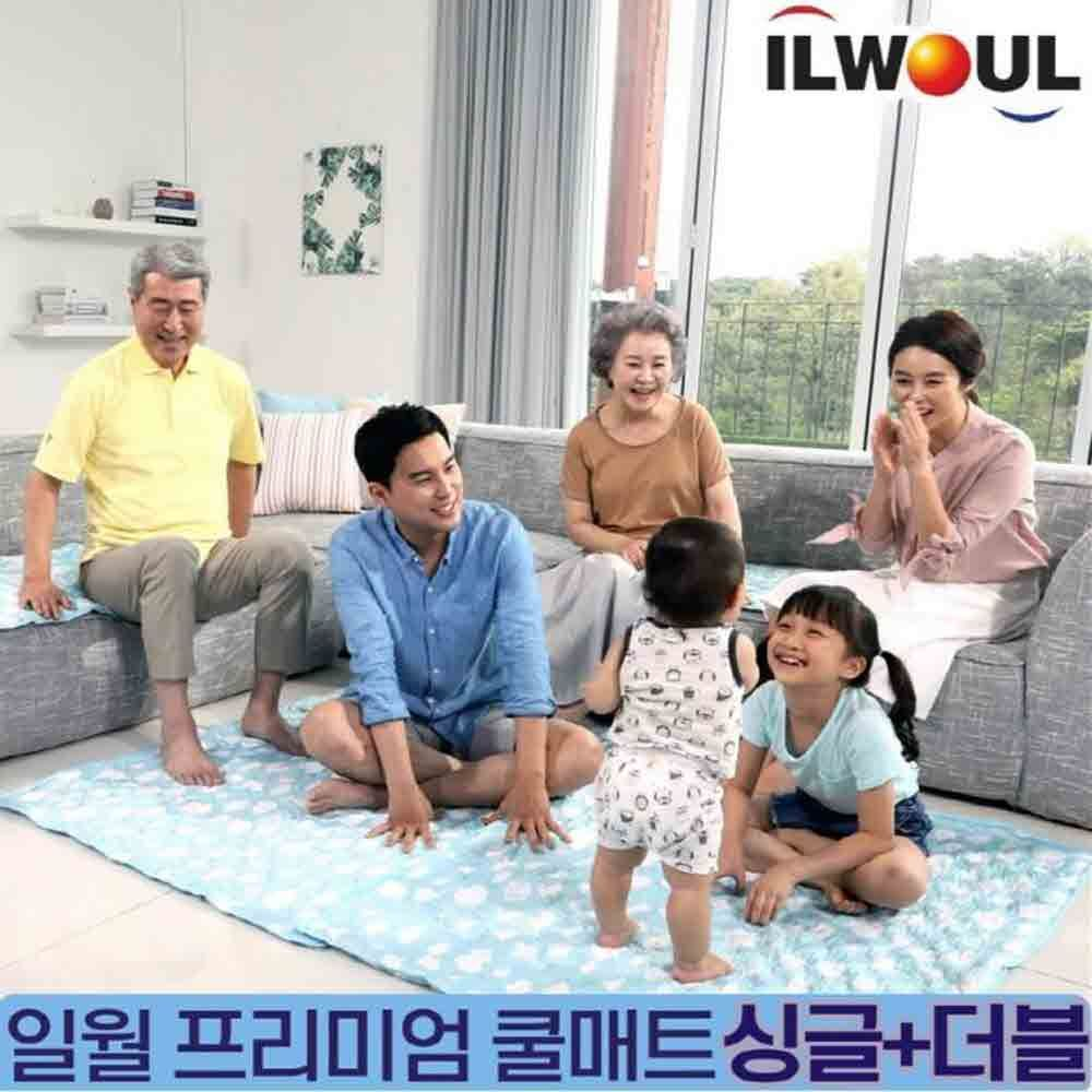 일월 프리미엄 인견 쿨매트 싱글+더블+베게2 SET
