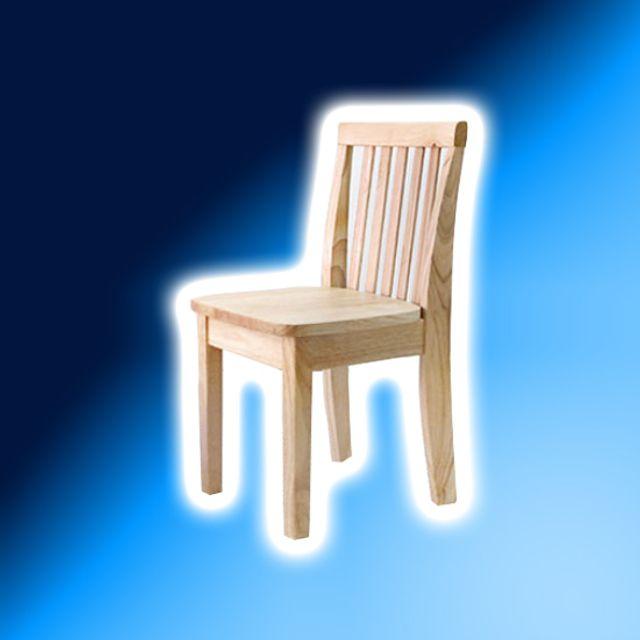 벤트리 원목 심플 키즈 의자