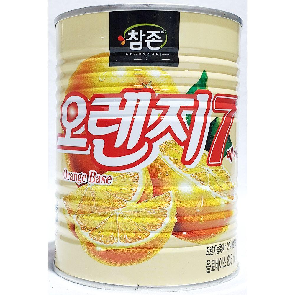 업소용 카페 식자재 재료 참존 오렌지7베이스 835ml