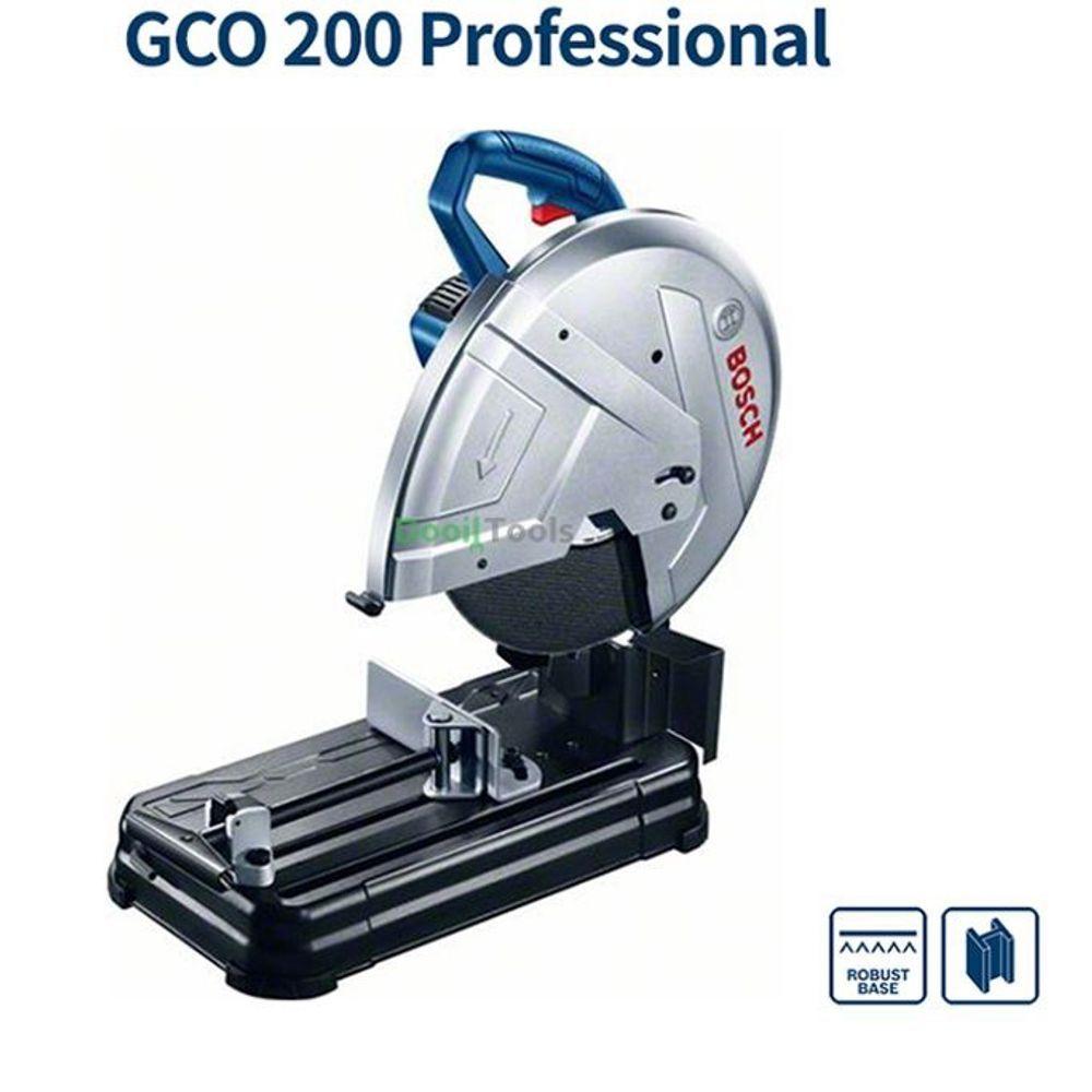 BOSCH 고속절단기 GCO200 (14in) 컷팅기 절단공구