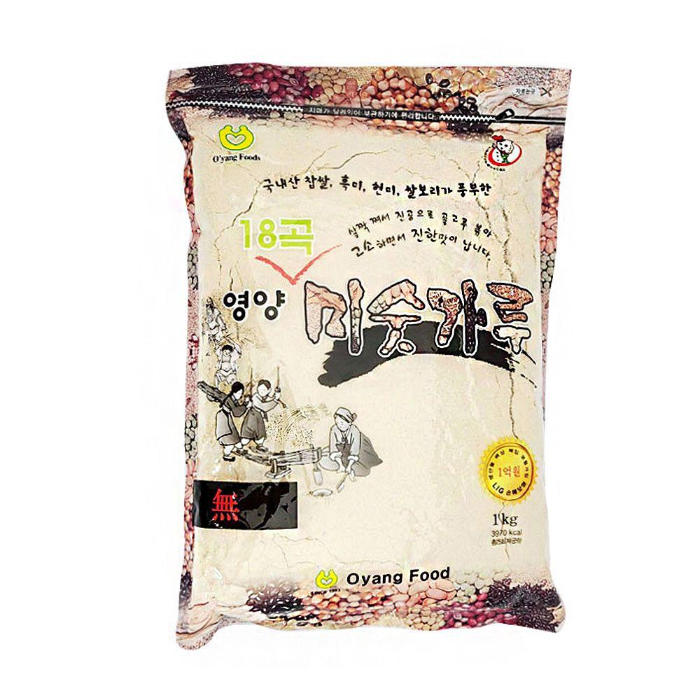 18곡 영양 미숫가루 국내산 영양식 1kg