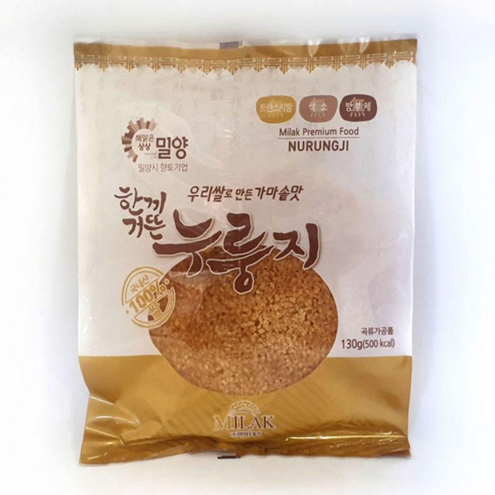 무 방부제 무 색소 고소한 누룽지 우리쌀 국내산 130g