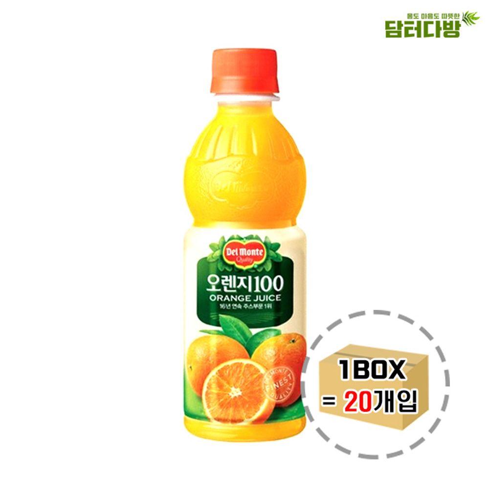 델몬트 오렌지100 400ml x 20개