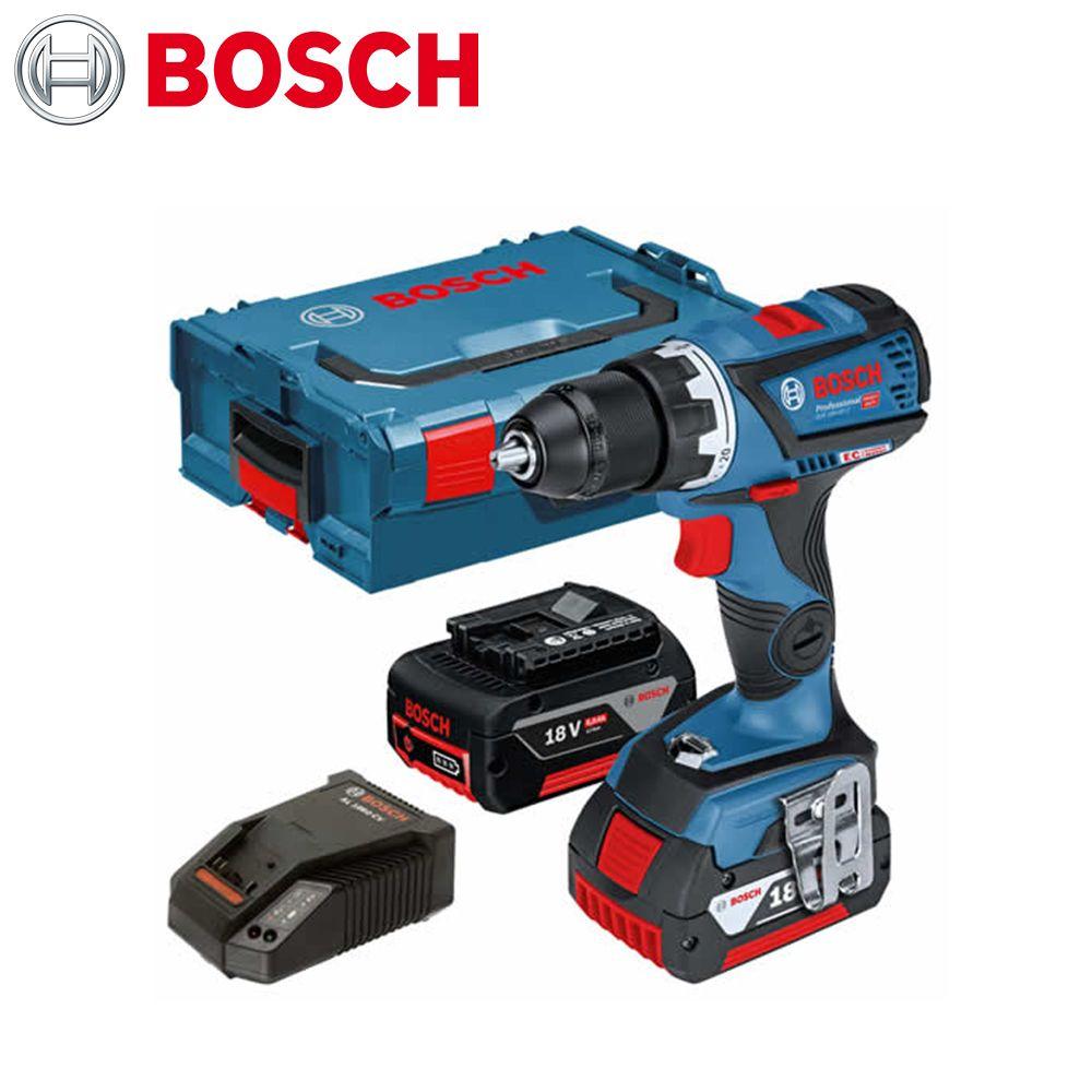 보쉬 18V 5.0Ah 충전 드릴드라이버_GSR 18V-60C