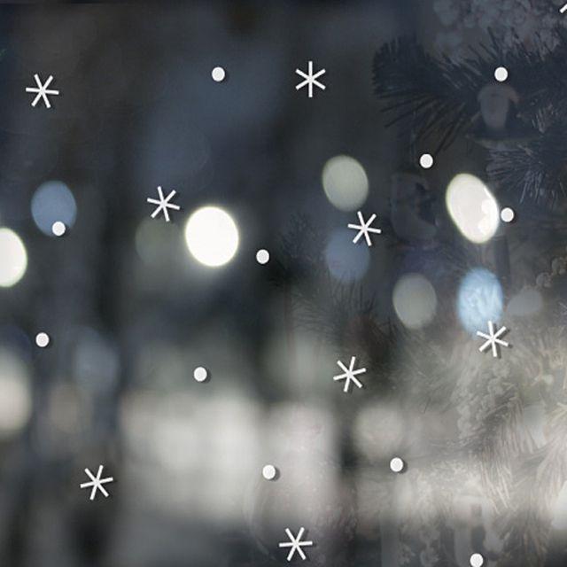 크리스마스그래픽스티커 착한눈꽃스티커 WBWG144