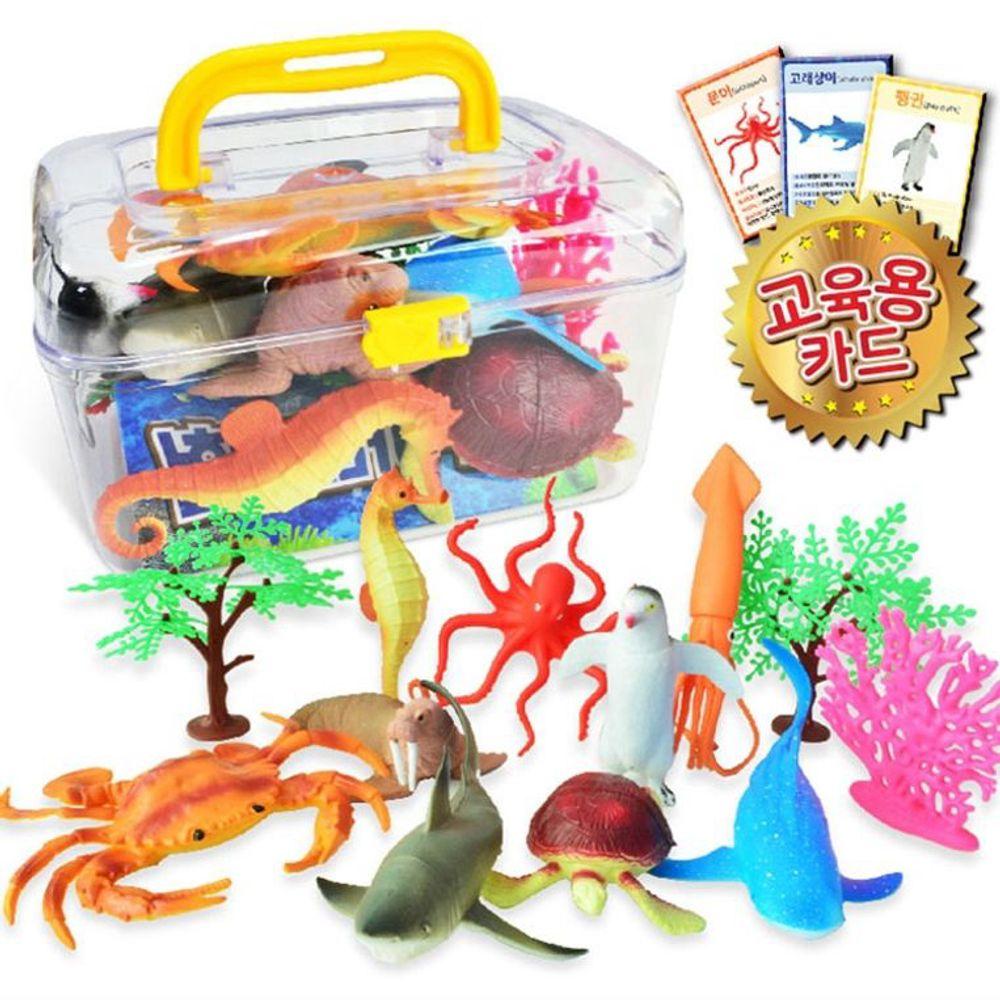 어린이 장난감 인형 피규어 물고기 아쿠아대탐험