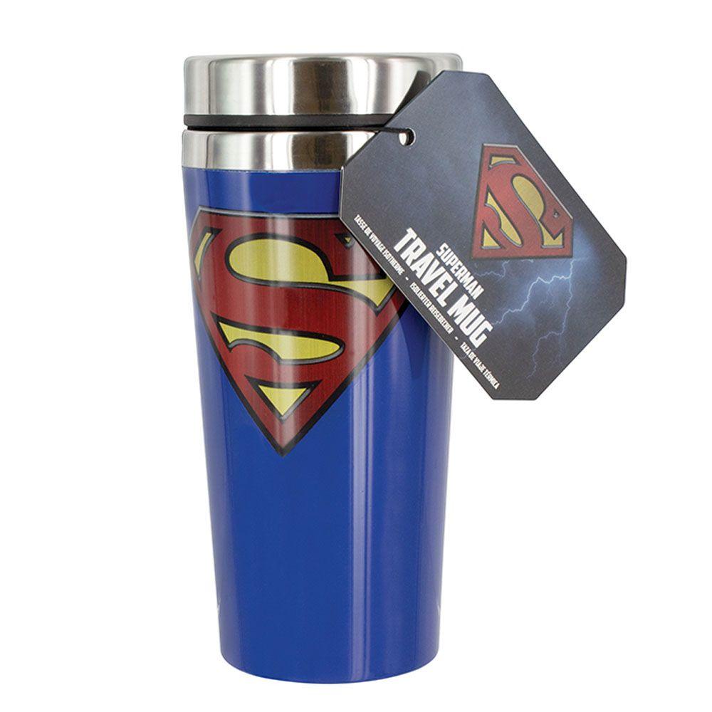 슈퍼맨 로고 450ml 트래블 텀블러