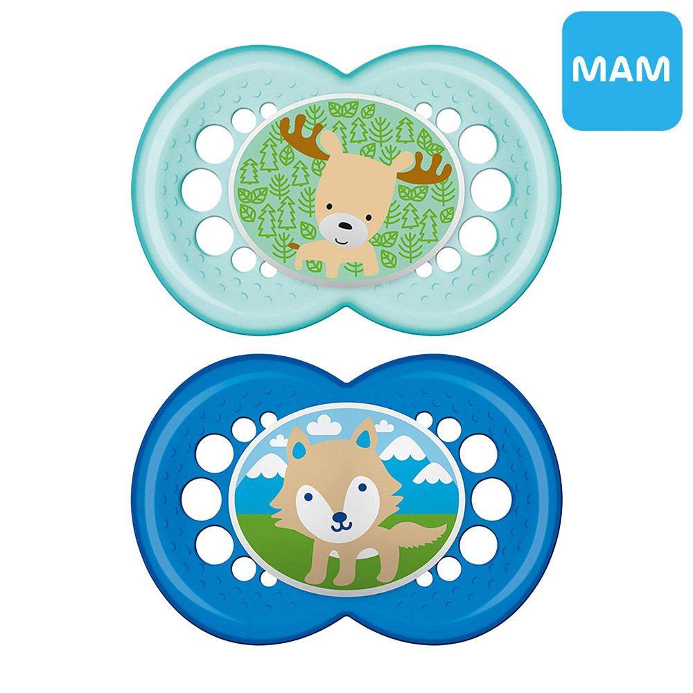 MAM 노리개젖꼭지 O 사슴과 늑대 (6개월이상)