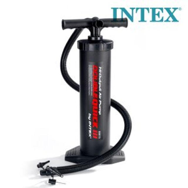 INTEX 핸드펌프 68615 에어목베게 에어매트 에어펌프