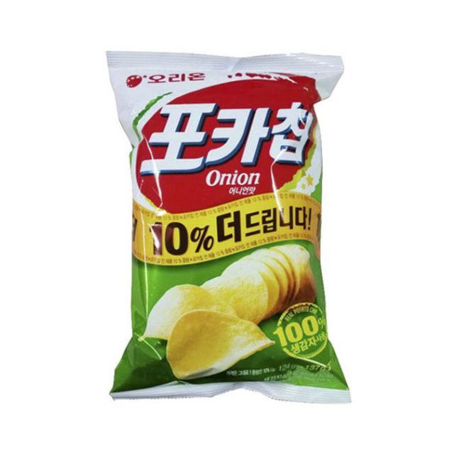 오리온)포카칩 양파 110g x 6개