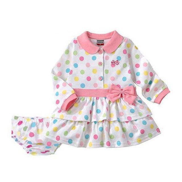 귀엽고 발랄한 원피스(12개월-5세) 203107