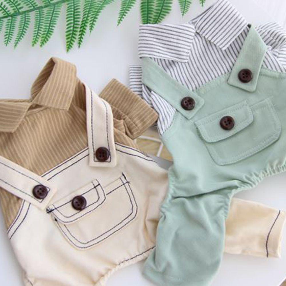 반려동물 멜빵 셔츠 평상복