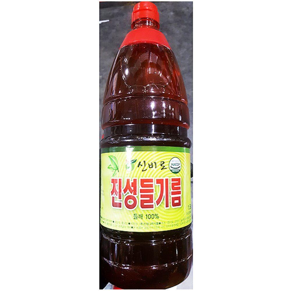 들기름 진성 1.8L 들맛기름 업소용 식당용 식당 업소