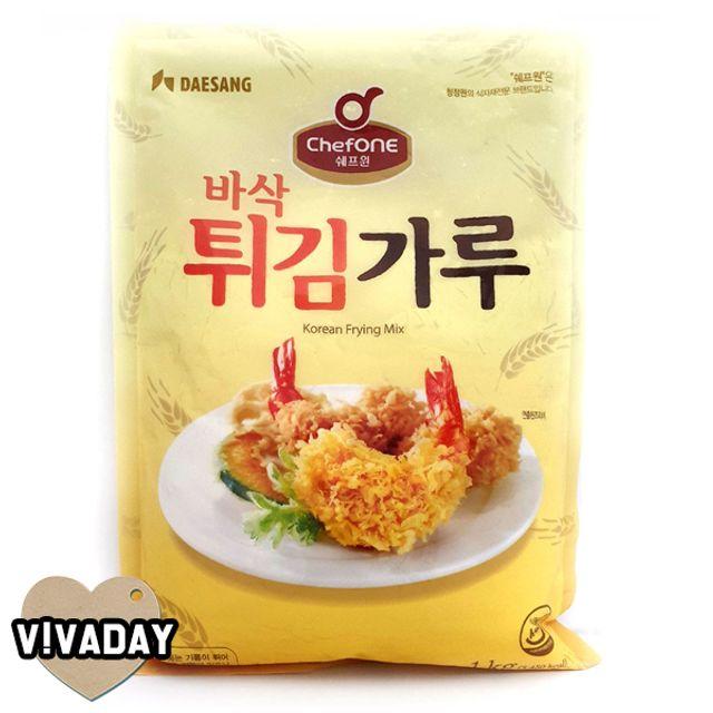 MY 청정원 바삭 튀김가루 부침가루 1kg