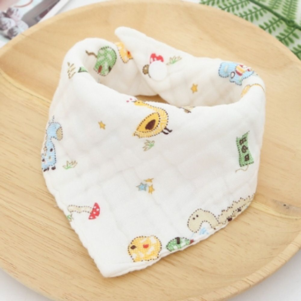 아기 신생아 용품 순면 6겹 스카프 손수건 선택 공룡