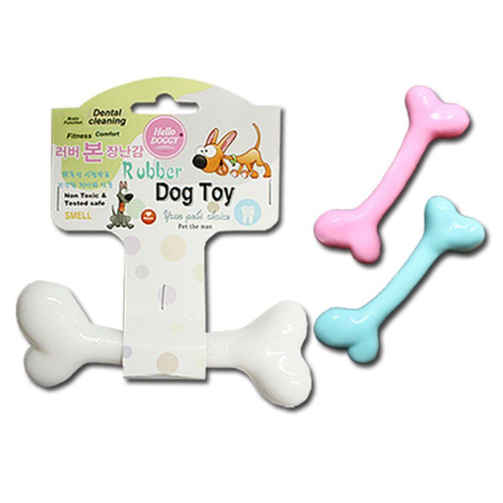 러버 본뼈다귀 장난감 색상랜덤 애견 치석제거 장난감