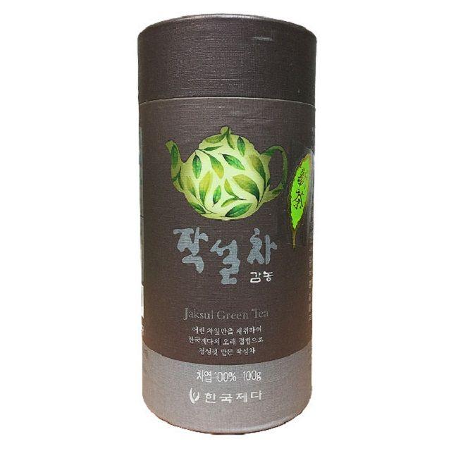 은은한 향기의 작설차 잎녹차 100g