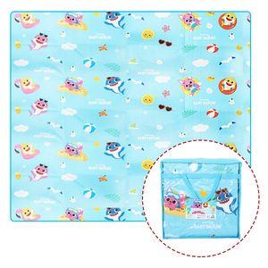 아이티알,LL 핑크퐁 아기상어 양면매트 190 x 180cm