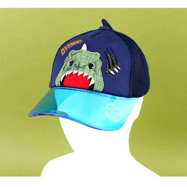 아동 어린이 캐릭터 야구 모자 다이몬쥬 UV 투명캡