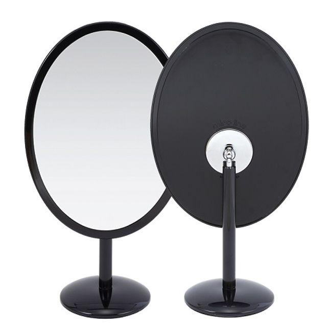 미로라인-413블랙 회전형 단면 탁상거울/빅사이즈거울