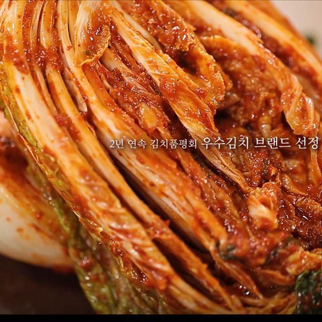 (30년 전통) 올국산 진선미 포기김치 3kg