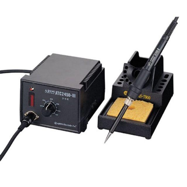 아림전기 온도조절용 인두기세트 ATC-2490 100W