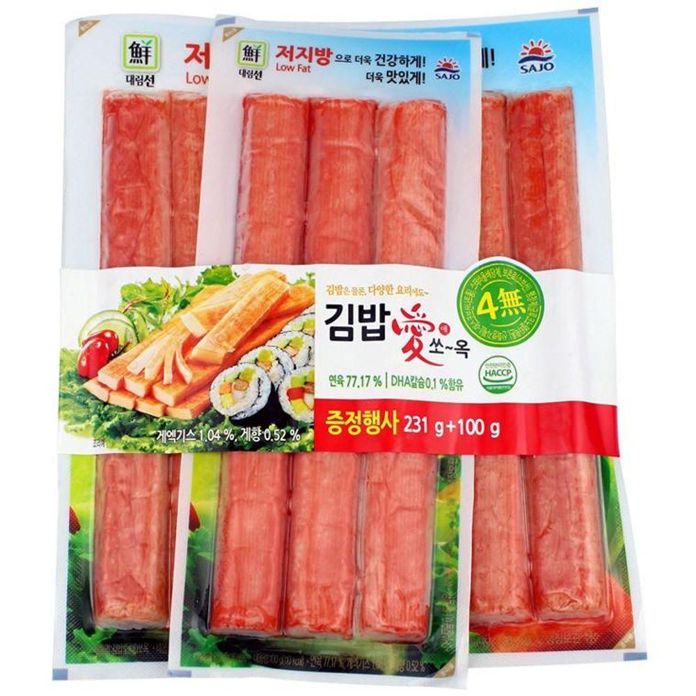 IN228 김밥애 쏘옥 맛살 (231g+100g)