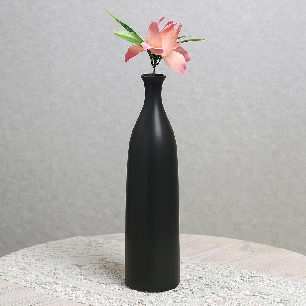 (V54)인테리어 모노 도자기 인테리어 꽃병