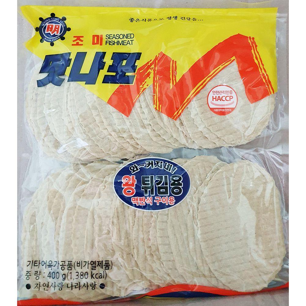 쥐포 튀김용 400g 맥반석 구이용 생선포 안주 어포