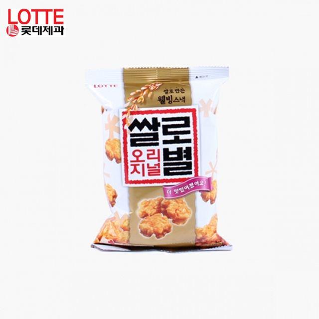 쌀로별 오리지널 62g X 8봉지 기획세트 고소한쌀과자