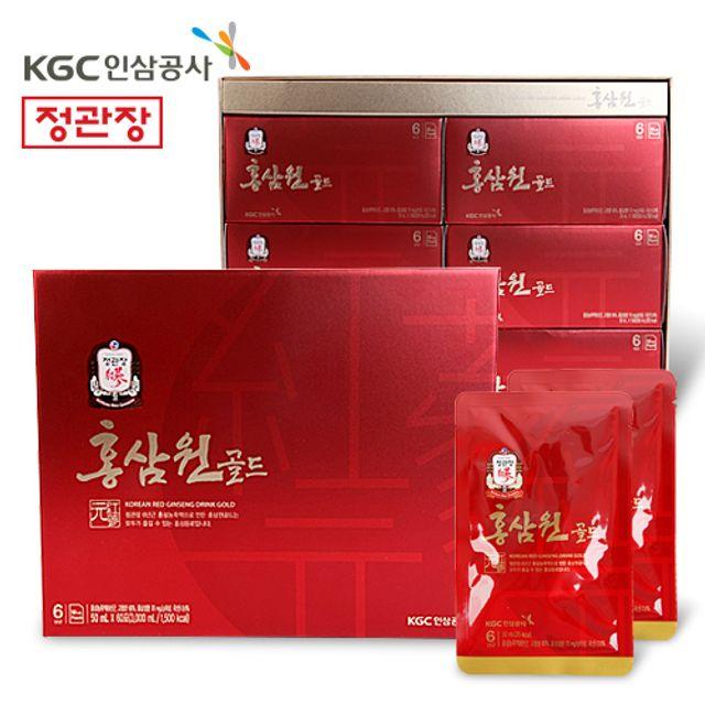 정관장 홍삼원 골드 선물세트 건강음료 50ml 60포