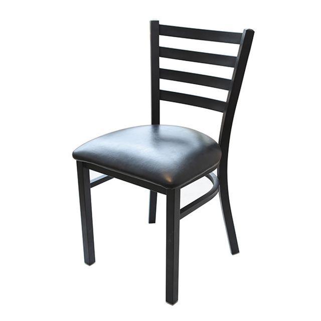 까페의자 캐빈스틸 PVC 시트 스틸 프레임 식탁의자