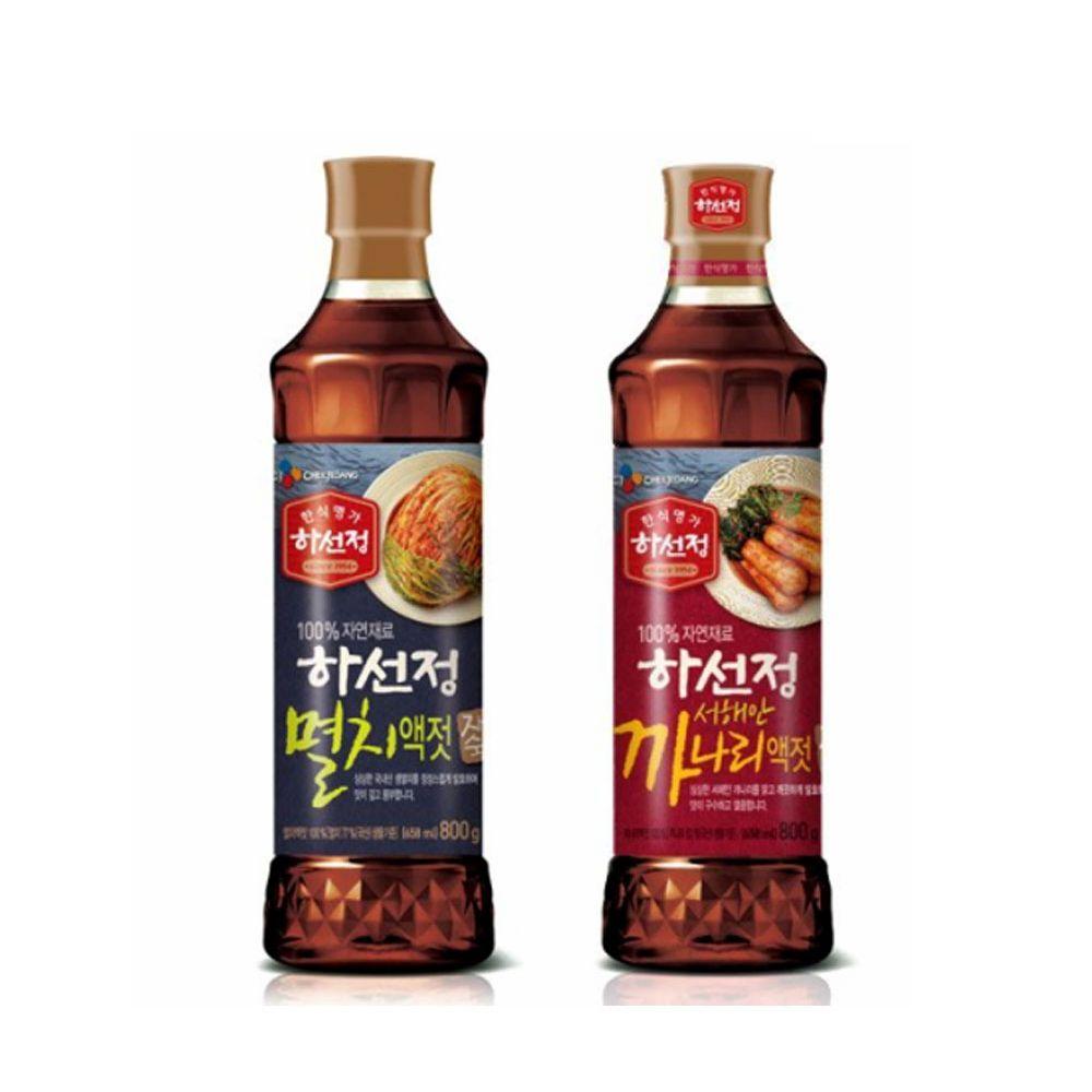제일제당 하선정 액젓800g/ 멸치 까나리/ 김치양념장