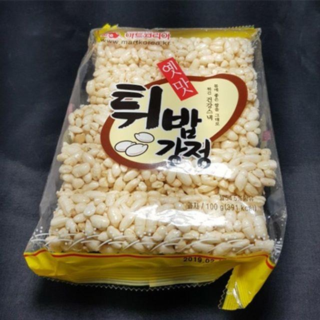 마트코리아 1200 옛맛튀밥강정 100g x 10