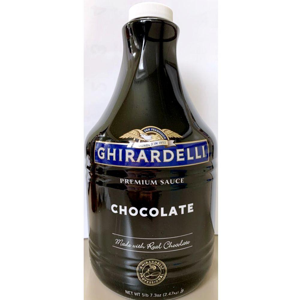 업소용 식자재 기라델리 초콜릿 시럽 소스 1.89L X6