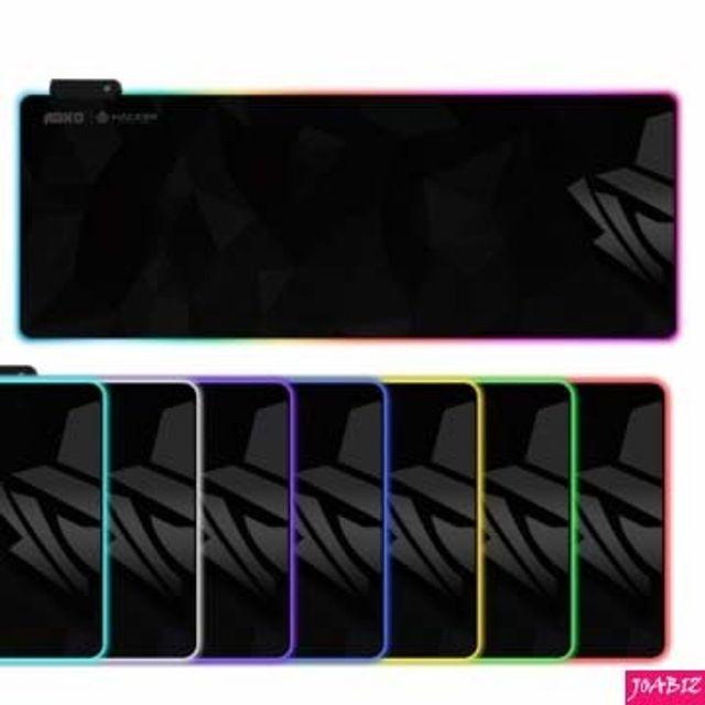 엣지 RGB LED 게이밍 장패드 PC용품