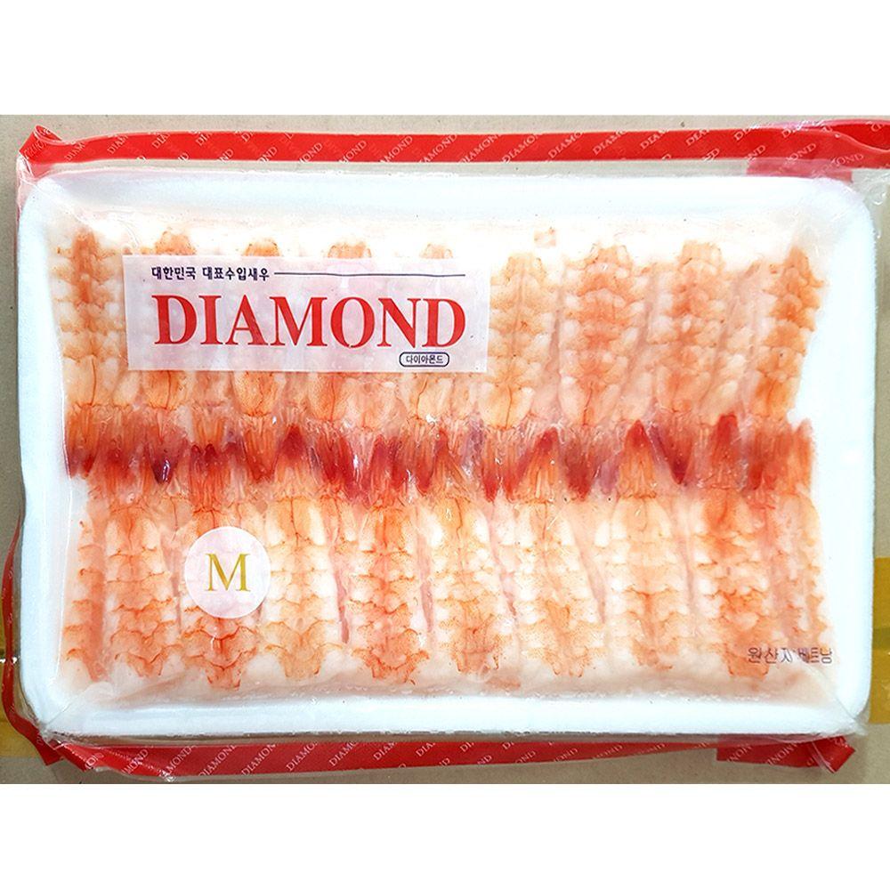 업소용 식자재 식재료 초밥용 초새우 50미 160g X20