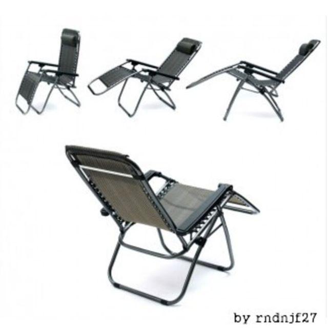 함마톤 리클라이너 접이식의자 낮잠의자 B형 캠핑의자