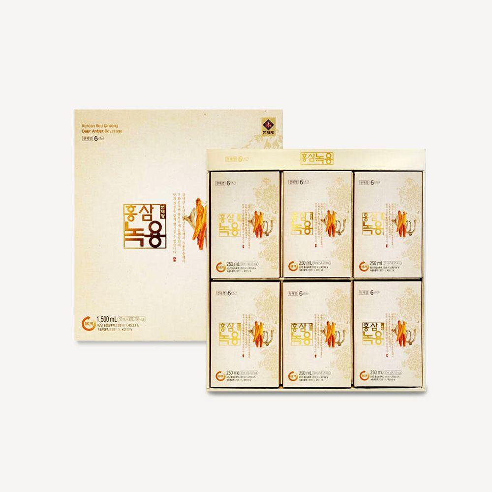 천제명 홍삼녹용 30포 6년근홍삼 건강식품 선물set