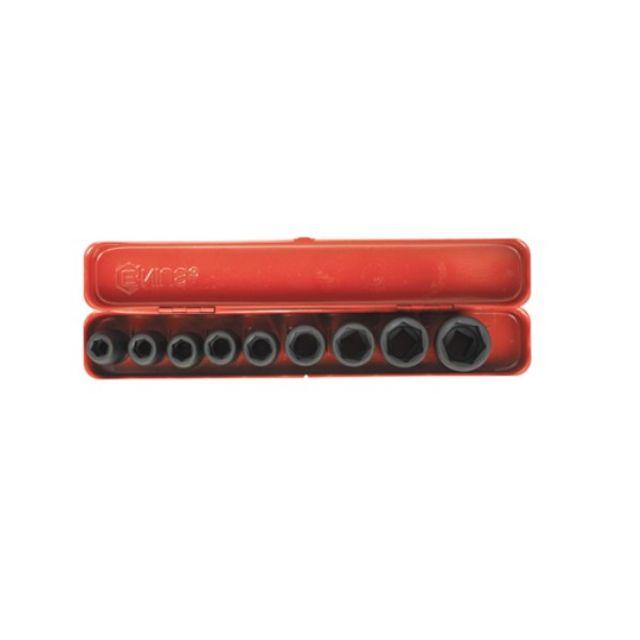 지니어스 임팩 소켓세트 GS-409M2 1/2SQ x 9pcs