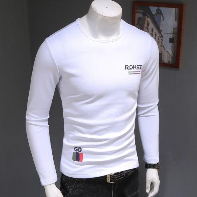 캐주얼 셔츠 남자 긴팔 티셔츠 트렌드 T-SHIRTS