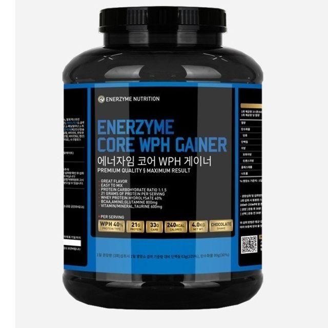 헬스 운동 단백질 보충제 프로틴 WPH 게이너 4kg