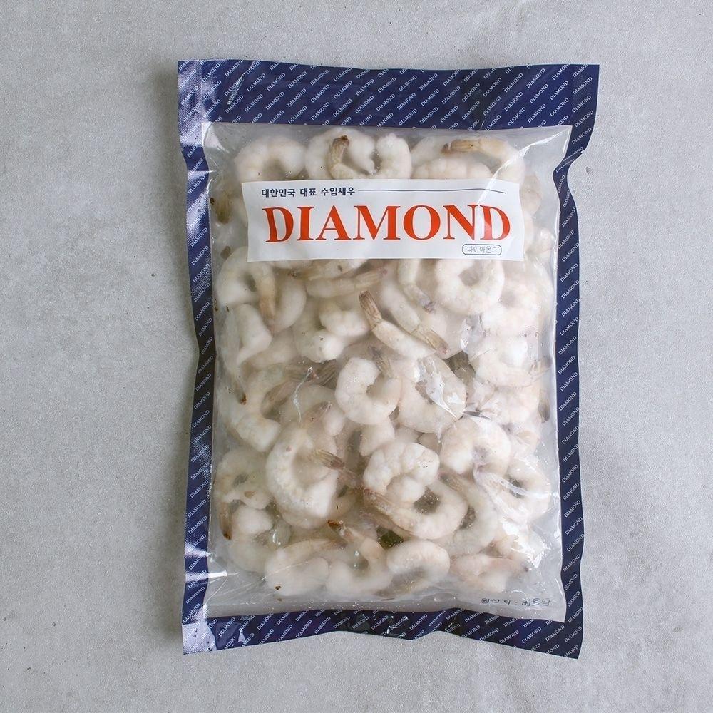다이아몬드 냉동 생칵테일 새우 900g 41 50