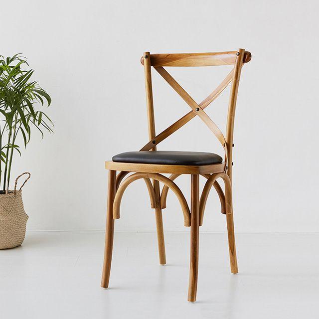 마켓비 KROSBEC 의자 원목의자 북유럽의자 티크