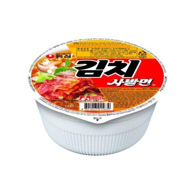 농심 김치사발면 소 24개 BOX